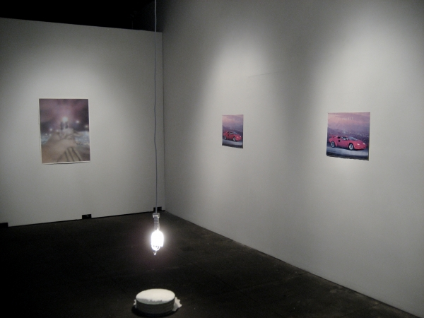 posters, installation view.